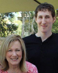 Kay y su hijo Matthew